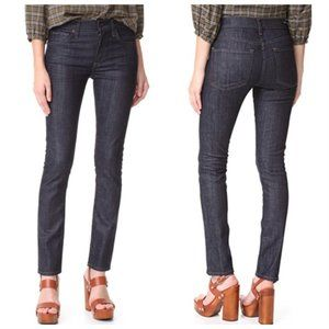💕CITIZENS OF HUMANITY💕 Agnes Long Slim Straight Leg Jeans ~ After Dark 25 NWT